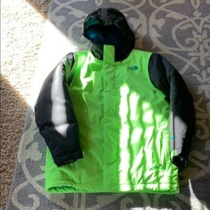 Boys North Face Size 14/16 winter jacket